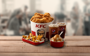 ayam: Kfc Bucket 5 Ketul Ayam